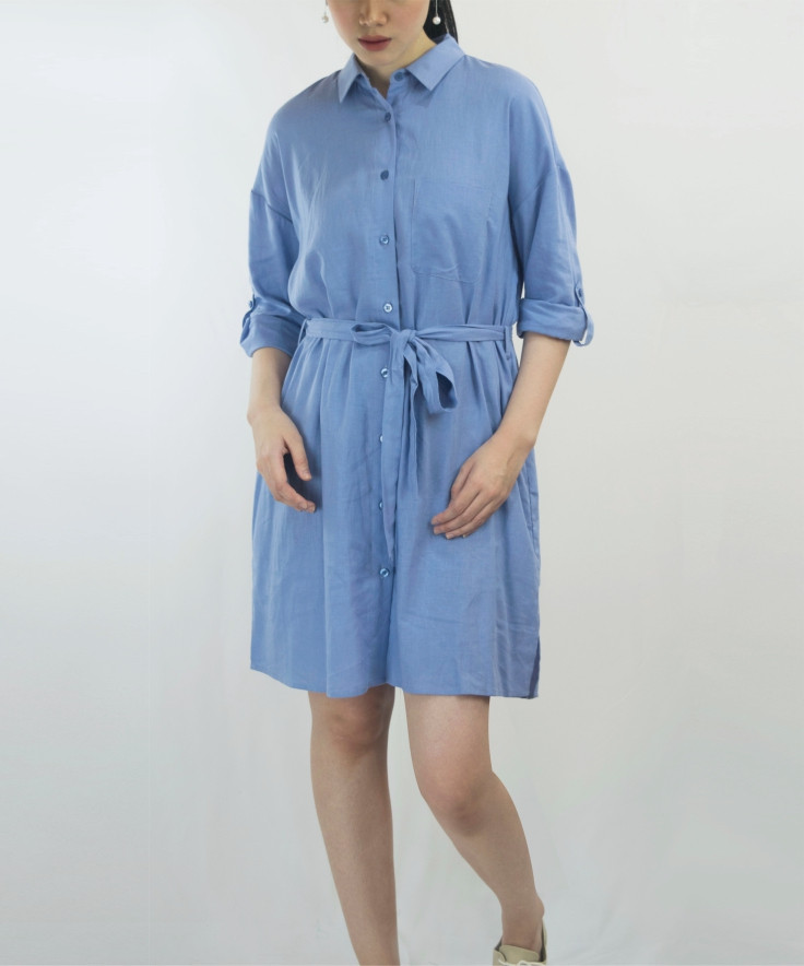 Dress Minimal Collection Front Opening & Belt